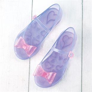 Colour Changing Sparkle Bow Shoes ❤️