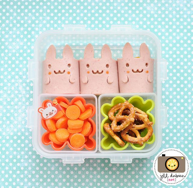 230 best easter fun food idea images on pinterest bento ideas easter bunny lunch for a kid bento negle Gallery