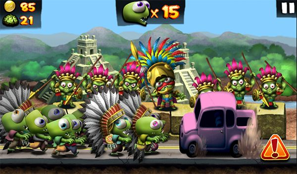 Zombie Tsunami Let's start with an experience unique zombie running through the streets, add them to your chaotic procession of dashing undead back and chase.http://zombie-tsunami.net/