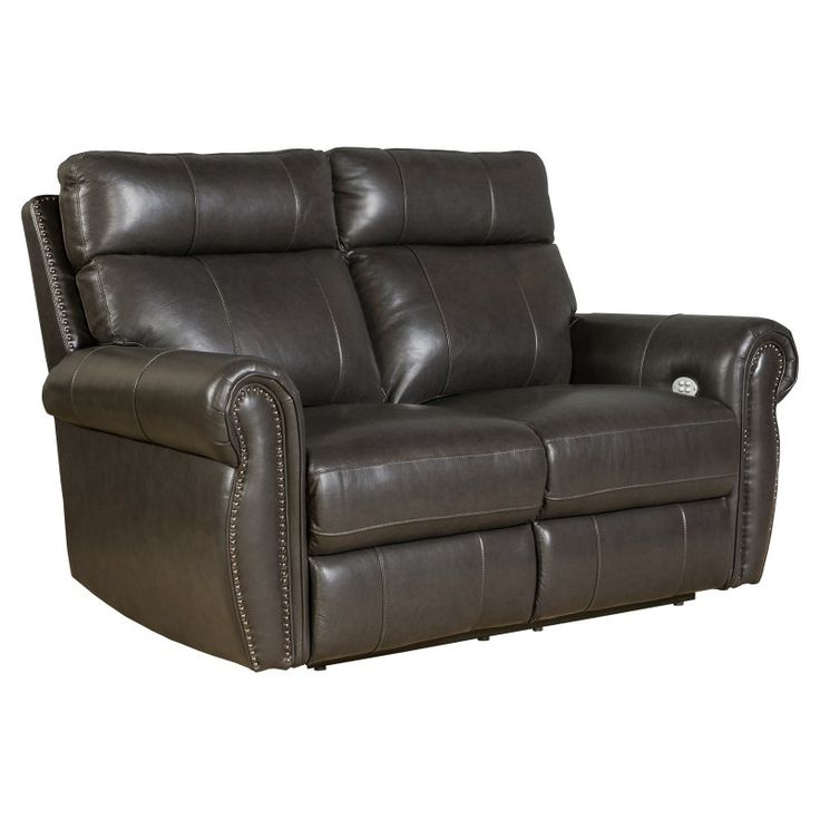 Barcalounger Portlander Power Reclining Loveseat with Power Head Rests - 29PH3086370095