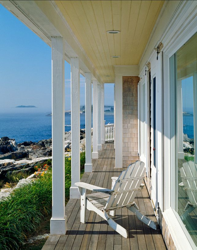 Porch with Ocean View