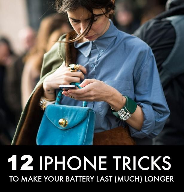 how to make iphone battery last longer 12 iphone tricks to make your battery last much longer 20160