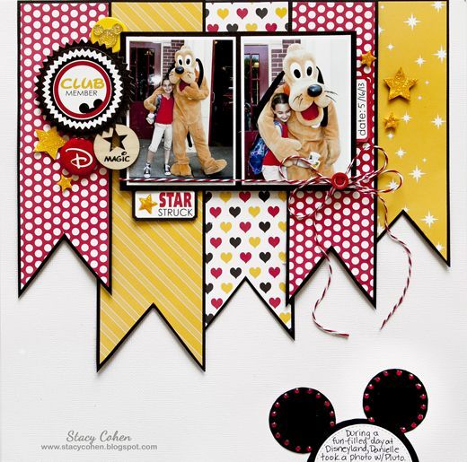Star Struck - http://Scrapbook.com Featuring the new Queen & Co. Magic Collection