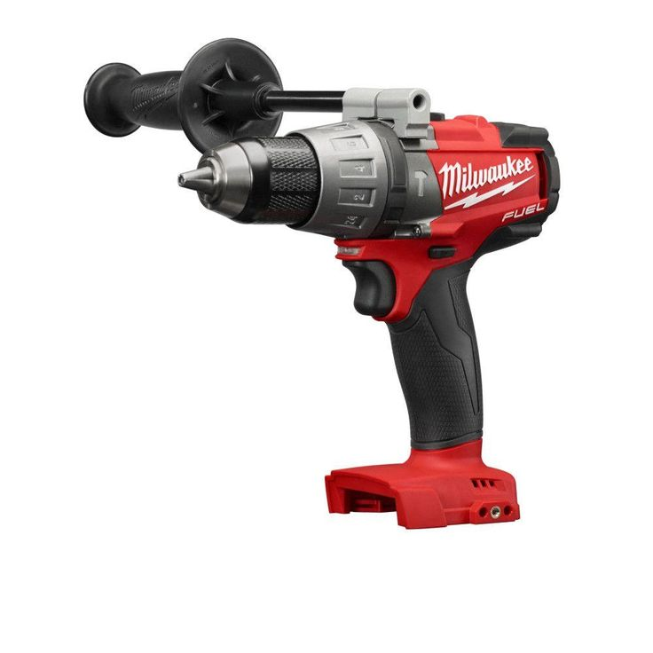 Milwaukee M18 Fuel 18-Volt Lithium-Ion Brushless 1/2 in. Hammer Drill/Driver (Tool-Only)