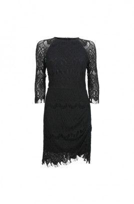 Amber Rose Lace  Dress-BLACK-8