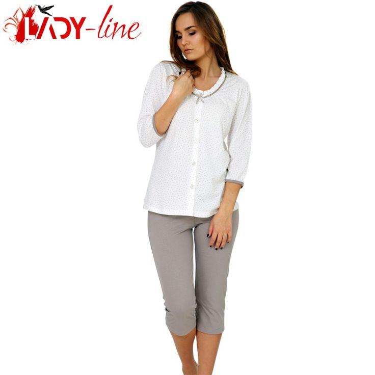Poze Pijamale Dama Bumbac 100%, M-M Nightwear, Nostalgie'