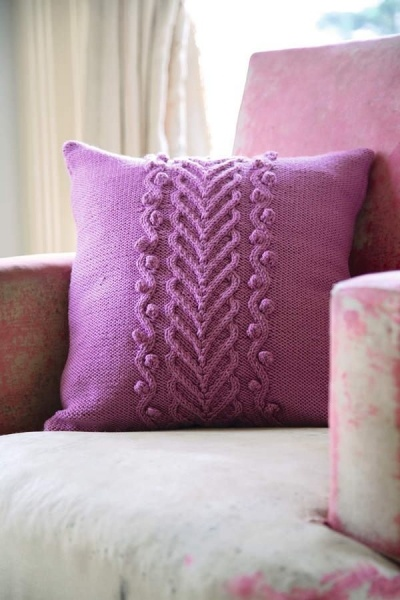 159 best images about Knitting : Pillows on Pinterest Free pattern, Knitted...