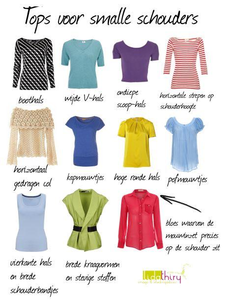 Tips en tops voor als je smalle of afhangende schouders hebt | www.lidathiry.nl | #smalleschouders #kledingtip