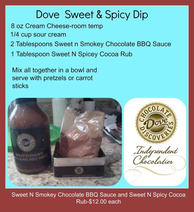Dove Sweet & Spicy Dip  • http://www.mydcdsite.com/jenleiberg