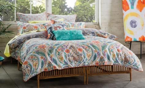 Kareena Quilt Cover Set by KAS Australia