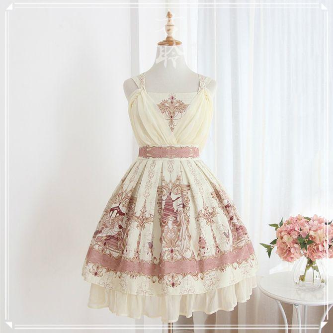 Jun Ling -Mesopotamia- Lolita Jumper Dress