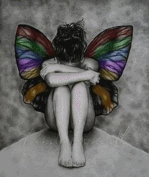 Sad fairy..............