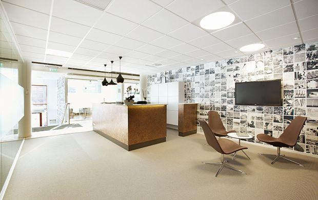 Interior made by Krook & Tjäder for Dekra in Gothenburg. www.krook.tjader.se