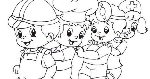 Dibujos Del Dia Del Trabajo Para Colorear Recopilado De La Web Dia Del Trabajador Dia Del Idioma Dia Del Abuelo