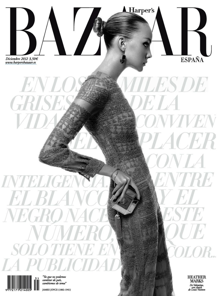 Un Nuevo Desafio | Heather Marks | Xevi Muntane #photography | Harper's BAZAAR Espana ( Spain ) December 2012