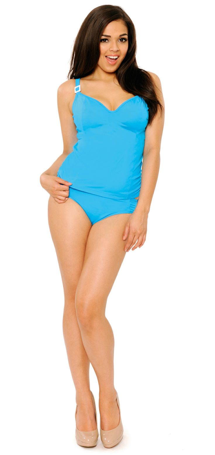 Paradise Blue- Curvy Kate Swimwear Spring Summer 2013