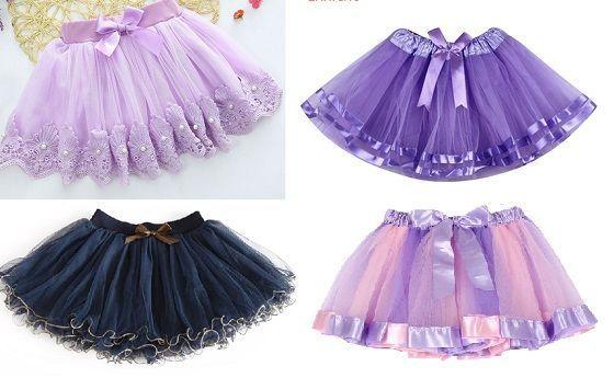 Patrón falda tutu para niñas - Patrones gratis
