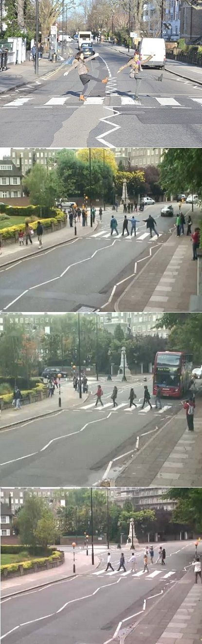 Genius! Abby Road cam + live feed of the famous Abby Road crossing :)