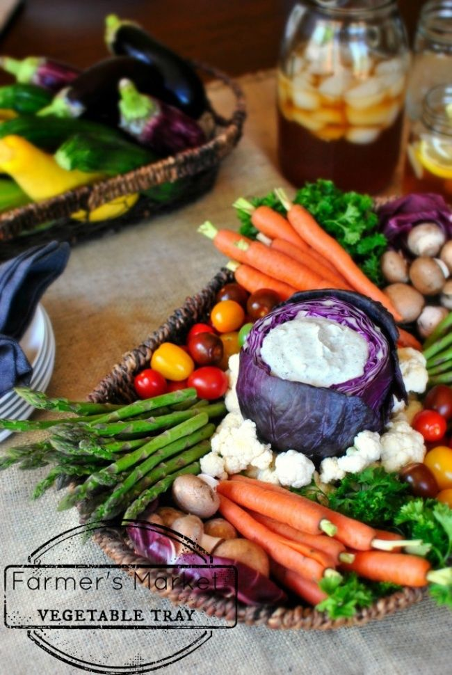 Gorgeous veggie platter...inspiration only, no recipe.  Would be great with an SCD legal blue cheese dip.  :)