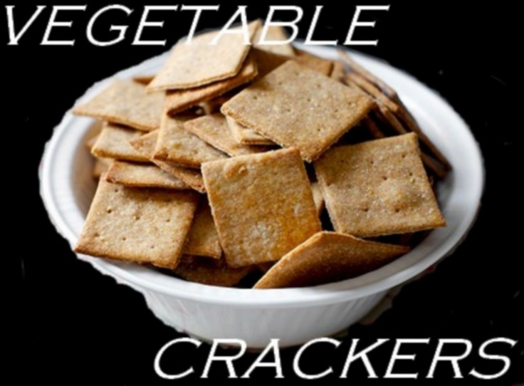 Make your own crackers! Recipes to do so here: www.lazycook.webs.com  Make your own crackers?! Get out!