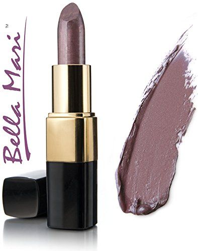Bella Mari Natural Inspiration Shimmer Lipstick 4.5g. Free from petrochemicals. Cruelty-free, vegan and vegetarian. Free from synthetic dyes or flavoring. Phthalate free, paraben free, preservative free, Bismuth oxychloride free. Free from gluten, dairy, soy, corn, peanuts, tree nuts, carmine.