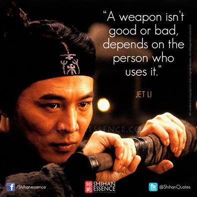 Words by 李连杰 Jet Li