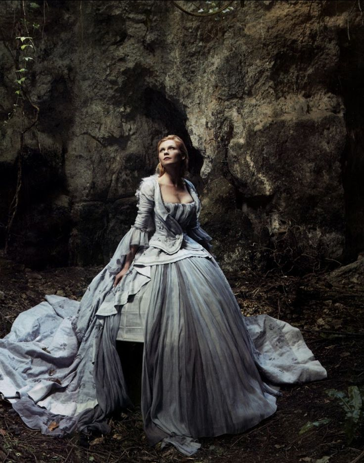♥ Romance of the Maiden ♥ couture gowns worthy of a fairytale - Marie Antoinette by Annie Leibovitz