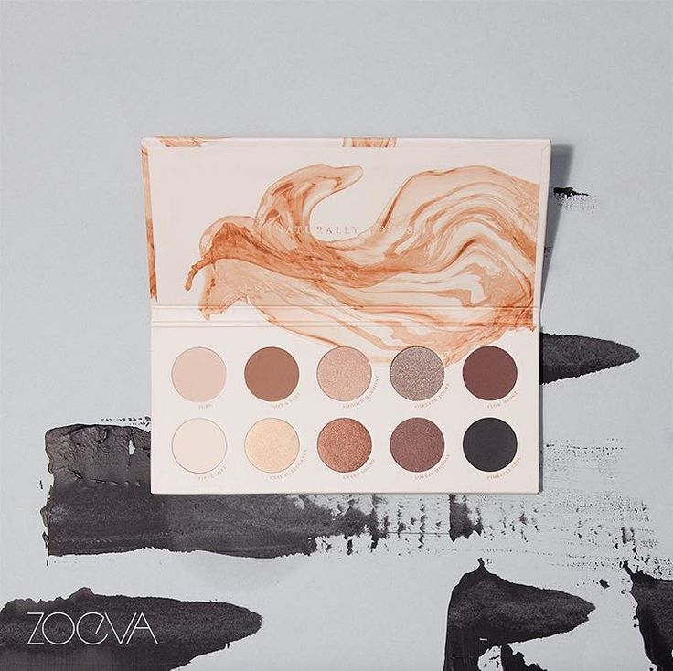 Exquisite simplicity. Create sophisticated, natural makeup looks with our gorgeous Naturally Yours Palette. #ZOEVA #naturallyyours #eyeshadow
