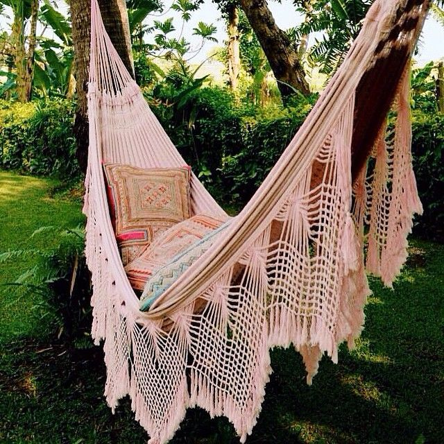 the most beautiful hammock there ever was
