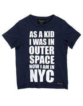 FINGER IN THE NOSE Boys Blue NYC T-Shirt. Shop now: http://www.tilltwelve.com/en/eur/product/1064073/FINGER-IN-THE-NOSE-Boys-Blue-NYC-T-Shirt/