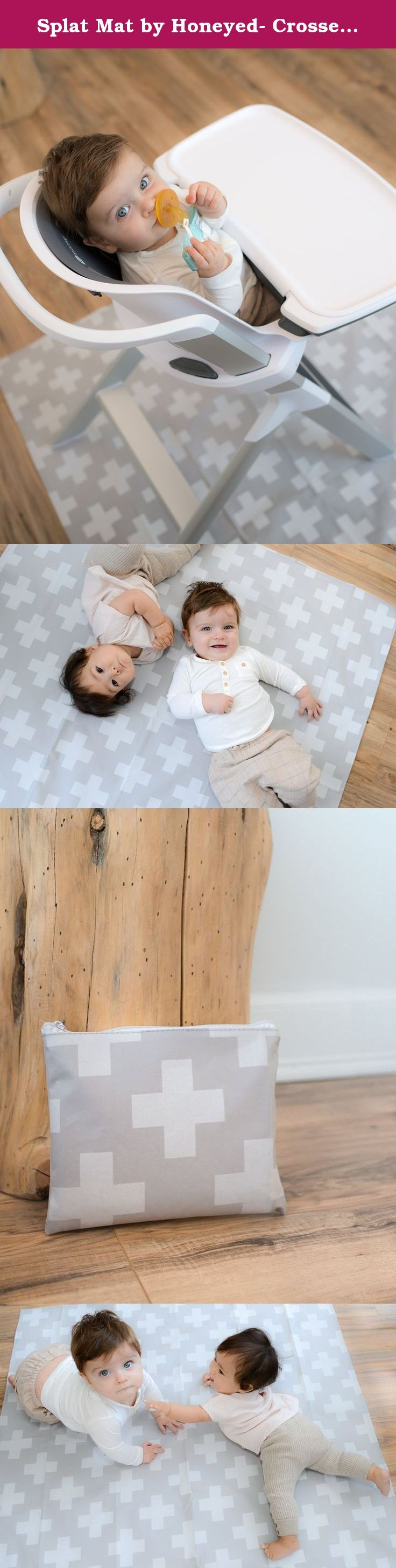splat mat by honeyed crosses modern design large non toxic high