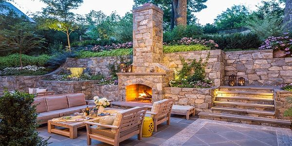Outdoor Fireplace Designs with Outdoor Stone Fireplace and Traditional Fireplace also Modern Outdoor Fireplace and Vintage Outdoor Fireplace Design Ideas