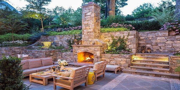 Best 10 Outdoor Fireplace Designs