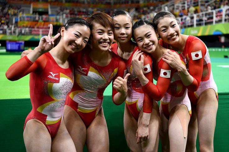 Gymnastics - Artistic - Olympics: Day 2 #YukiUchiyama #Rio2016 #体操 #女子 #リオ五輪 #オリンピック
