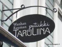 Wanhan Rauman putiikki TaruLiina - Rakastunut Raumaan -liike