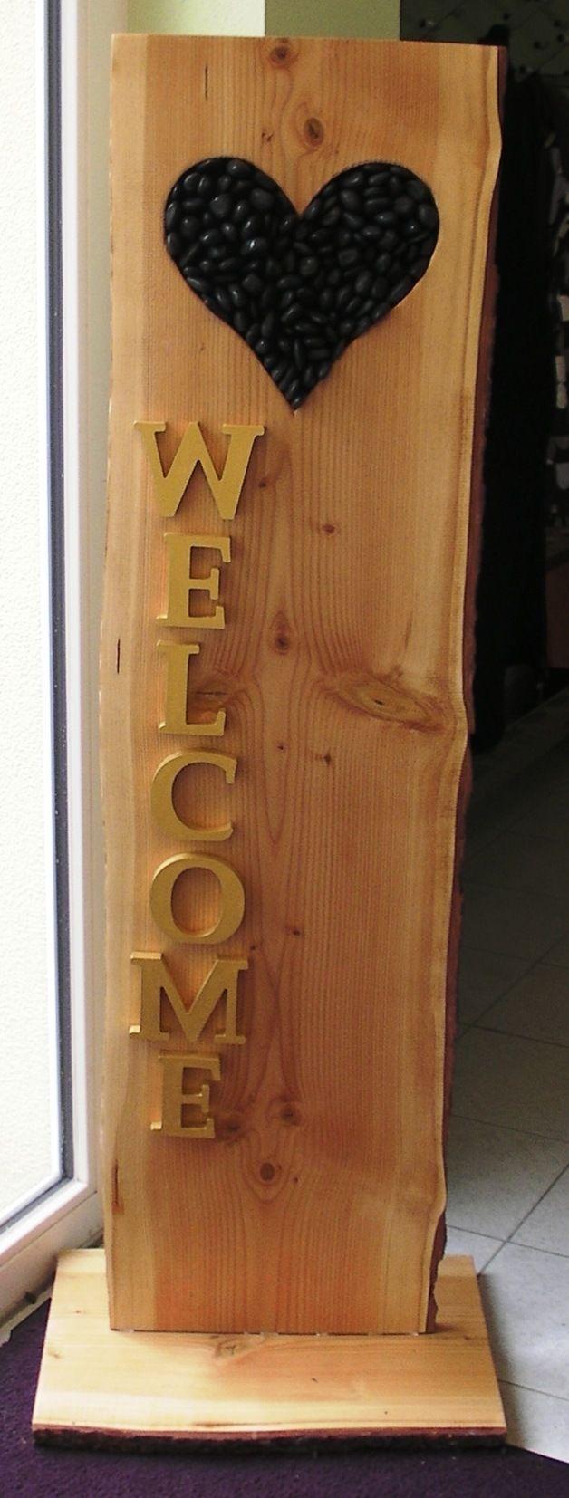 Deko-Objekte - Holz Romantik - ein Designerstück von stilldaniela bei DaWanda