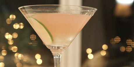 Lychee Martini... I could use one right now... YUMM!