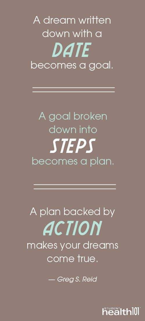 A dream written down with a date becomes a goal. A goal broken down into steps becomes a plan. A plan backed by action makes your dreams come true