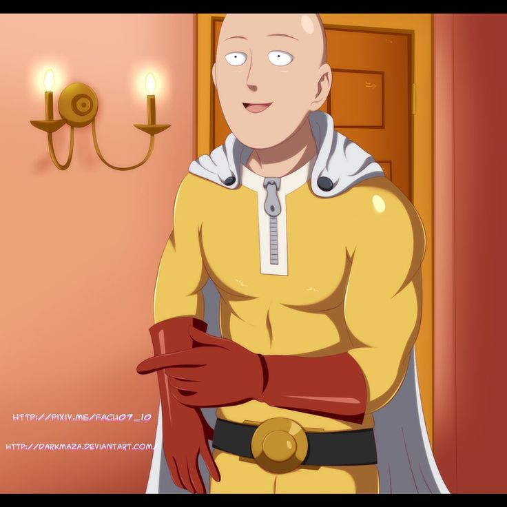 Saitama ~ Johnny sins pose by DarkMaza