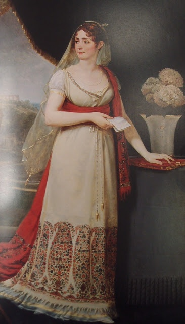 Shawl Dresses and Dresses Made from Shawls 1800-1815