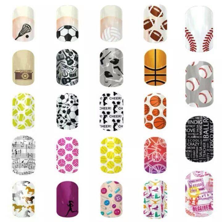 Jamberry Sport Nails!   http://jwolfe216.jamberrynails.net/