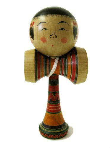 Kokeshi Kendama Seisuke Taisho Style: Japanese Traditional Wooden cup & ball game made in Japan by Kokeshi Kendama. $52.80. Yajiro Kokeshi dolls one of 11 kinds kokeshi style. Limited Kokeshi Kendama, the bottom is marked with the signature of the artist.. Takes 2 weeks to complete the process. Handcrafted by Japanese Kokeshi master in Iwaki, Fukushima region. Great to add Zen essense at your living room as a Home Decor. Approximate Specifications: Weight: 4 oz (115g) Ball...