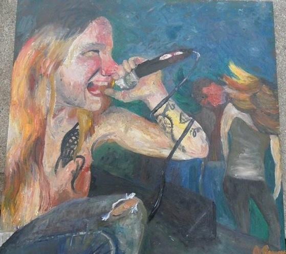 Creative Creature by Joy Parsons  Oil Paint