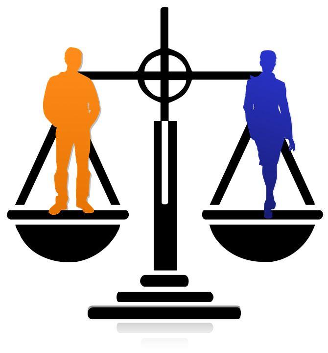 Equality, Business, Man, Woman, Equal, Teamwork, Team