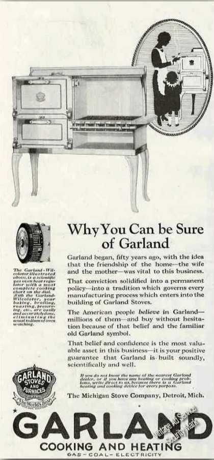 Garland Cooking & Heating Antique Kitchen Stove (1924)