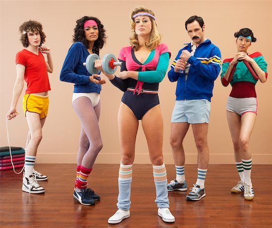 Does anyone remember fitness in the 80's ?? #Eighties #Fitness #30DFC