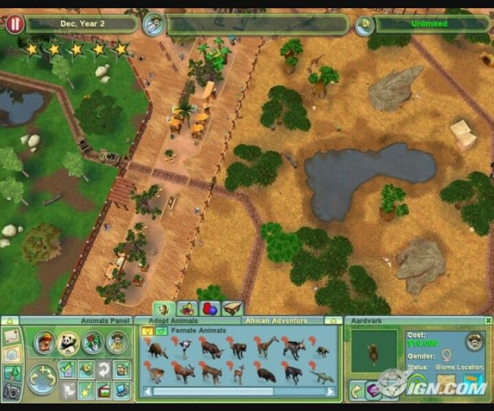 Zoo tycoon 2 exhibit idea