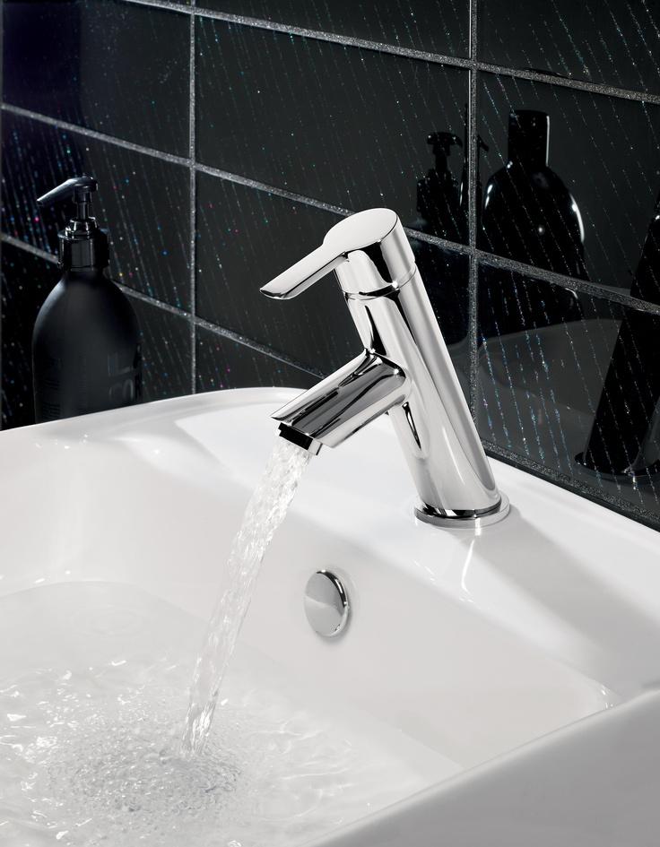 Slide Monobloc Bathroom Basin Tap from Crosswater http://www.crosswater.co.uk/product/crosswater-taps-and-mixers-mini-basin-mixers/slide-mini-basin-monobloc-sl114dnc/