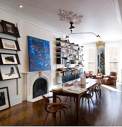 87 best brownstone interiors images on Pinterest | Brownstone ...