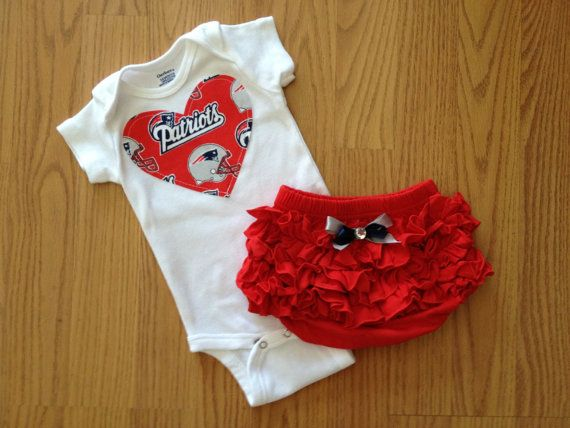 Hey, I found this really awesome Etsy listing at https://www.etsy.com/listing/130819570/new-england-patriots-girls-outfit
